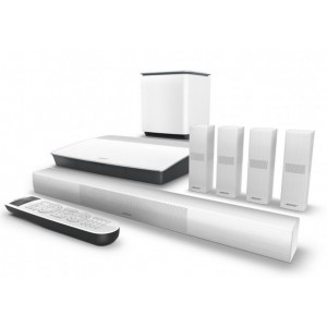 Bose Lifestyle 650 Home Entertainment System White