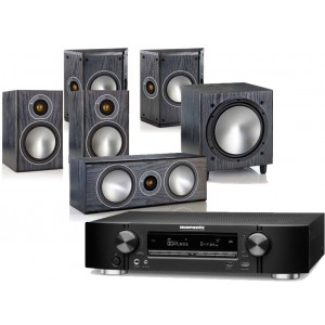 Marantz NR1506 w/ Monitor Audio Bronze 1 (5.1)
