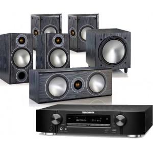 Marantz NR1506 w/ Monitor Audio Bronze 2 (5.1)