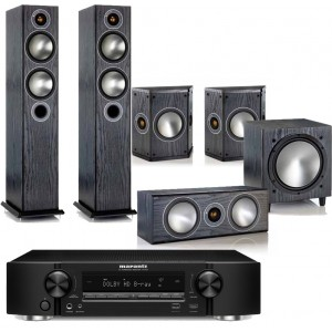 Marantz NR1606 w/ Monitor Audio Bronze 5 (5.1)