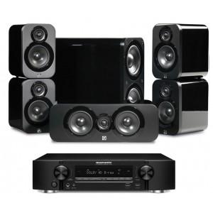 Marantz NR1607 AV Receiver w/ Q Acoustics 3000 Speaker Package 5.1