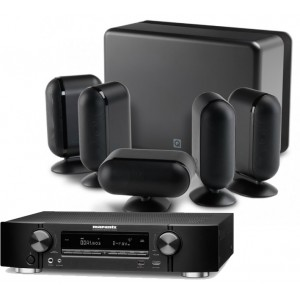 Marantz NR1607 AV Receiver w/ Q Acoustics Q7000i Speaker Package 5.1