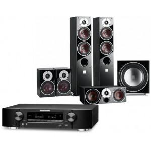 Marantz NR1607 AV Receiver w/ Dali Zensor 5 Speaker Package 5.1