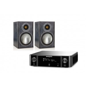Marantz MCR511 w/ Monitor Audio Bronze 1 Speakers