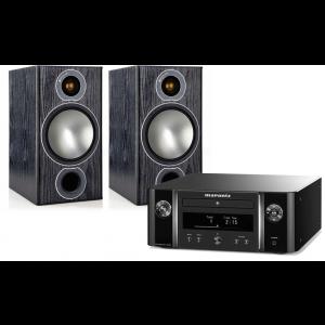Marantz Melody X MCR612 w/ Monitor Audio Bronze 2 Speakers