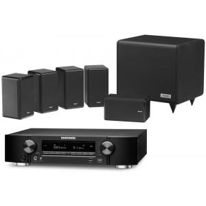 Marantz NR1607 AV Receiver w/ Tannoy HTS101 XP Speaker Package 5.1