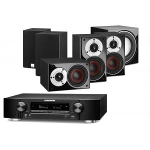 Marantz NR1607 AV Receiver w/ Dali Zensor Pico Speaker Package 5.1