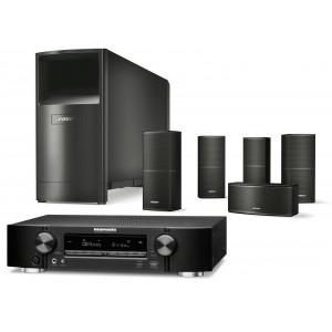 Marantz NR1711 AV Receiver w/ Bose Acoustimass 10 5.1 Speaker Package