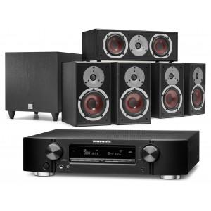 Marantz NR1711 AV Receiver w/ Dali Spektor 2 5.1 Speaker Package