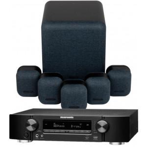 Marantz NR1711 AV Receiver w/ Monitor Audio Mass Gen2 5.1 Speaker Package