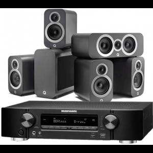 Marantz NR1711 AV Receiver w/ Q Acoustics 3010i 5.1 Speaker Package