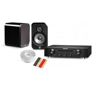 Marantz PM6005 Amplifier w/ Q Acoustics 3010 Speakers