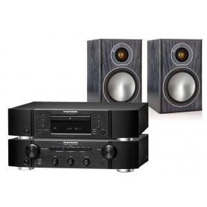 Marantz PM6005 & CD6005 & Monitor Audio Bronze 1 Speakers