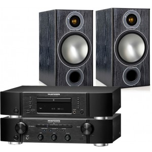 Marantz PM6005 & CD6005 & Monitor Audio Bronze 2 Speakers