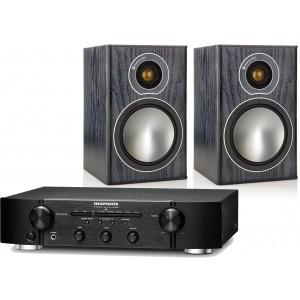 Marantz PM6005 Amplifier w/ Monitor Audio Bronze 1 Speakers