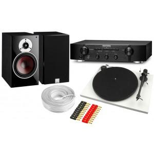 Marantz PM6006 Amplifier & Pro-Ject Essential II w/ Dali Zensor 3 Speakers