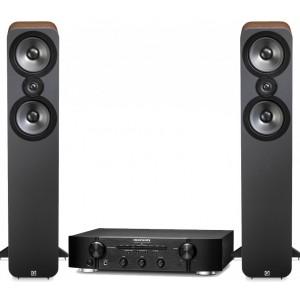 Marantz PM6005 Amplifier w/ Q Acoustics 3050 Speakers