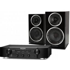 Marantz PM6006 Amplifier w/ Wharfedale Diamond 220 Speakers