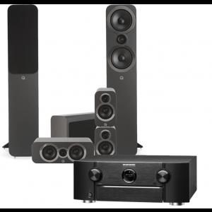 Marantz SR6014 AV Receiver w/ Q Acoustics 3050i 5.1 Speaker Package