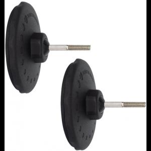 Monitor Audio MASM Wall Brackets (x2) (Black)