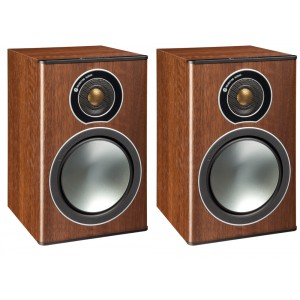 Monitor Audio Bronze 1 Bookshelf Speakers - Walnut