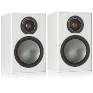 Monitor Audio Bronze 1 Bookshelf Speakers - White Ash