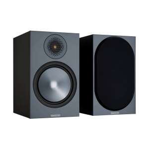 Monitor Audio Bronze 100 Bookshelf Speakers Black (6G)