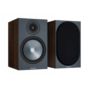 Monitor Audio Bronze 100 Bookshelf Speakers Walnut (6G)