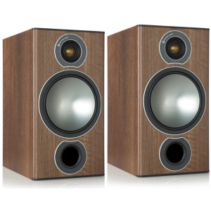 Monitor Audio Bronze 2 Bookshelf Speakers Walnut
