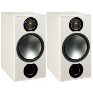 Monitor Audio Bronze 2 Bookshelf Speakers White Ash
