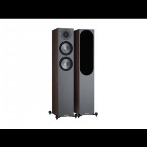 Monitor Audio Bronze 200 Floorstanding Speakers Walnut (6G)