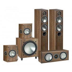 Monitor Audio Bronze 5 AV Package (Open Box, Walnut)