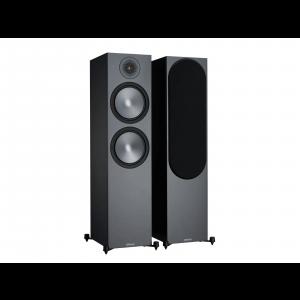 Monitor Audio Bronze 500 Floorstanding Speakers Black (6G)