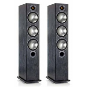 Monitor Audio Bronze 6 Floorstanding Speakers - Black Oak