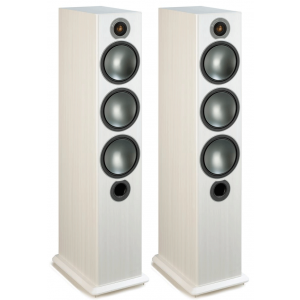 Monitor Audio Bronze 6 Floorstanding Speakers White Ash