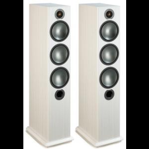 Monitor Audio Bronze 6 Speakers (Open Box, White Ash)