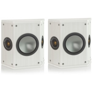 Monitor Audio Bronze FX Surround Speakers - White Ash