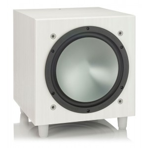 Monitor Audio Bronze W10 Subwoofer (White Ash)