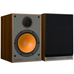 Monitor Audio Monitor 100 Bookshelf Speakers Walnut