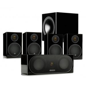 Monitor Audio Radius R90HT1 Package (Black, Open Box)