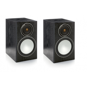 Monitor Audio Silver 1 Speakers - Black Oak