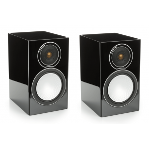Monitor Audio Silver 1 Speakers - Gloss Black