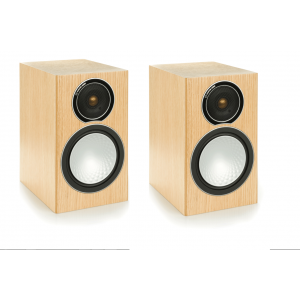 Monitor Audio Silver 1 Speakers - Natural Oak