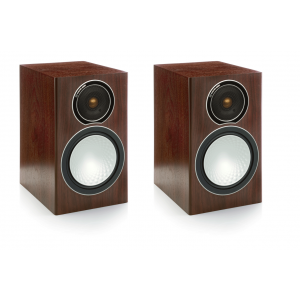 Monitor Audio Silver 1 Speakers - Walnut