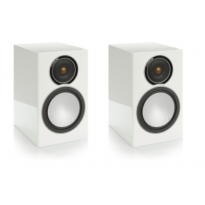 Monitor Audio Silver 1 Speakers - Gloss White