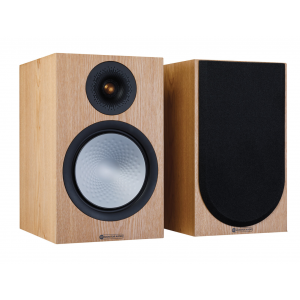 Monitor Audio Silver 100 7G Bookshelf Speakers Ash