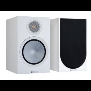 Monitor Audio Silver 100 7G Bookshelf Speakers Satin White