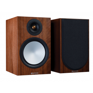 Monitor Audio Silver 100 7G Bookshelf Speakers Walnut