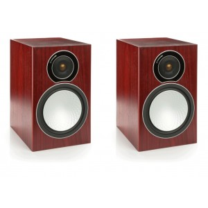 Monitor Audio Silver 2 Speakers-Rosenut
