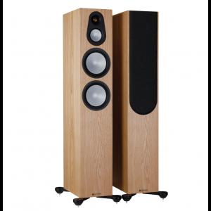 Monitor Audio Silver 300 7G Floorstanding Speakers Ash
